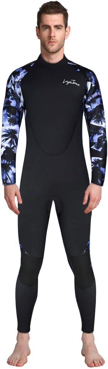 lahomia Mens Diving Jacket 3mm High Top Scuba Diving Suit