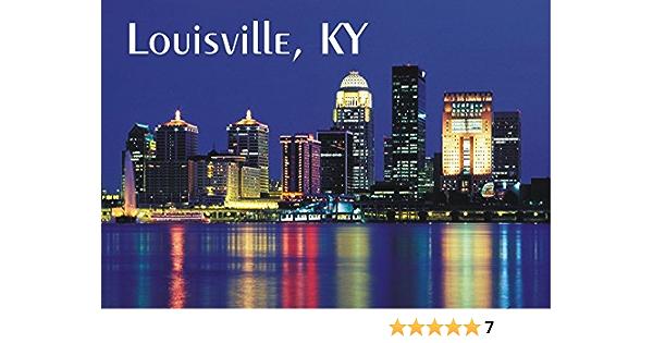 Louisville City Limit Sign Fridge Magnet