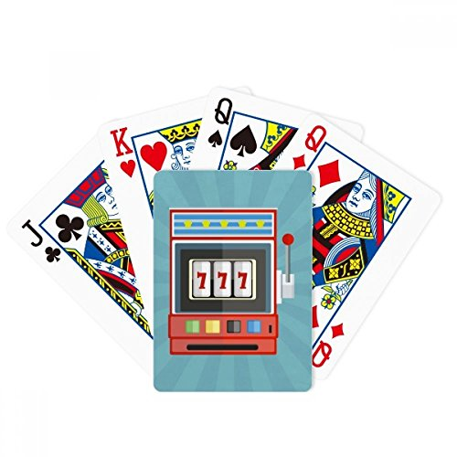 DIYthinker One Arm Bandit Illustration Pattern Poker Playing Card Tabletop Board Game Gift ()