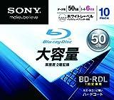 Sony BD-R DL 6X Blu-ray Discs, 10-pack