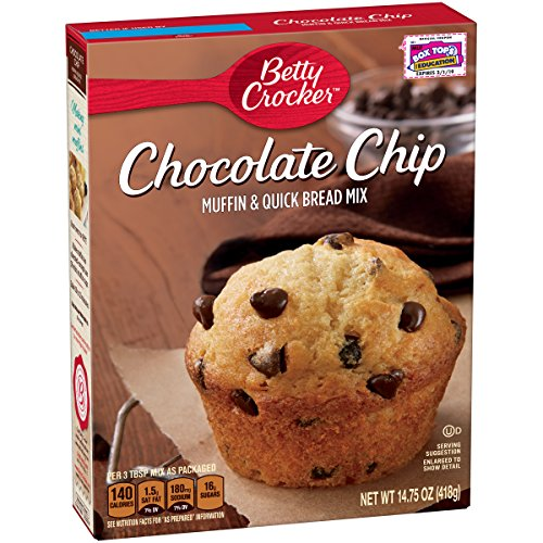 Betty Crocker Chocolate Chip Muffin & Quick Bread Mix (Quick Chocolate Bread Chip)