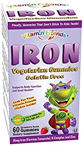 Vitamin Friends Iron Diet Supplement, 60 Count