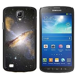 YiPhone /// Prima de resorte delgada de la cubierta del caso de Shell Armor - Estrellas del cielo nocturno Hubble Ver fotos Galaxy Amarillo - Samsung Galaxy S4 Active i9295