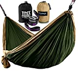 Eco-Friendly  Our tree friendly hammock straps ensure that no trees are harmed during use. Leave your campsite as you found it, without damage to the local ecosystem.  Compact, Lightweight and Durable  With a comfortable capacity of 400lbs, and an ef...