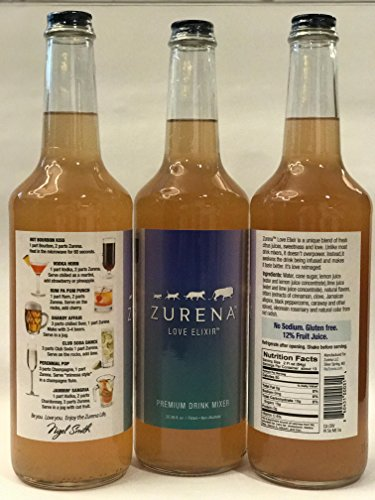 Zurena Premium Drink Mixer (3 Bottles)
