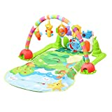 ThinkMax Jungle Piano Kick and Play Musical Gym for Baby Early Development