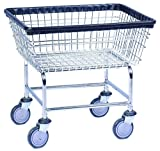 Everstrong Heavy Duty Wire Basket Laundry Cart, Standard