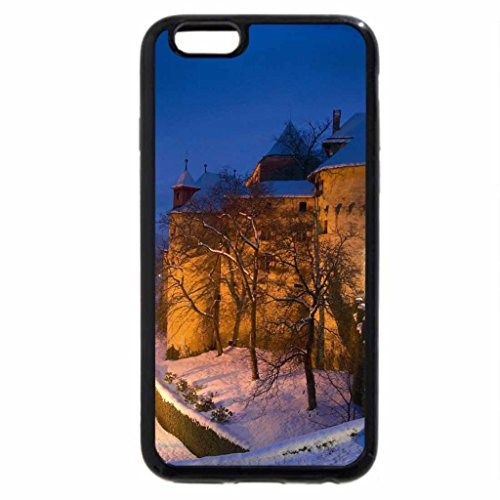 iPhone 6S / iPhone 6 Case (Black) Castle in Winter