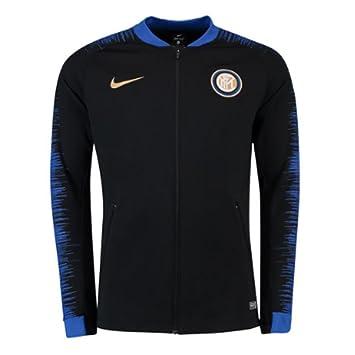 809002af8 Nike 2018-2019 Inter Milan Anthem Jacket (Black): Amazon.co.uk ...