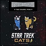 Star Trek Cats Twin Pins: Two Enamel Pins
