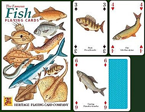 The Famous Fish Playing Cards