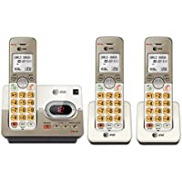 AT&T 3-Handset Expandable Cordless Phone with Answering System & Extra-large Backlit Keys (EL52313)