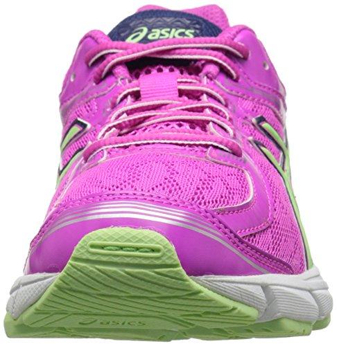 Asics GT 1000 4 GS Running Shoe (Little Kid/Big Kid) Pink Glow/Pistachio/Indigo Blue