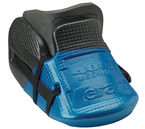 Grays Official mejorado interior Toe G400Kickers Durable–Kit para Hockey, negro y azul, large