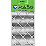 Nordic Pure 20x30x1M13-6 20x30x1 MERV 13 Pleated AC Furnace Air Filter, Box of 6, 1-Inch