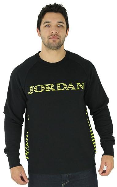 Nike Air Jordan ajx Accomplished sudadera negro/Venom Verde 589347 – 013 - 589347-