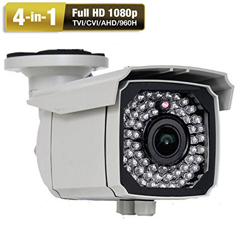 Amview HD 4-in-1 Full HD1080P 2.6MP 2.8-12mm Zoom Lens 66IR CCTV Security Surveillance Camera