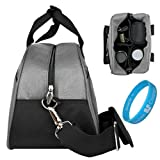 Canon Digital Rebel XSi Canon EOS Rebel T1i Canon Rebel XS XTi XT Canon EOS 50D 40D 30D 20D 5D SLR Camera Bag Steel Grey Mithra Edition Stylish DSLR Camera Carrying Bag with Removable Shoulder Strap, Bags Central