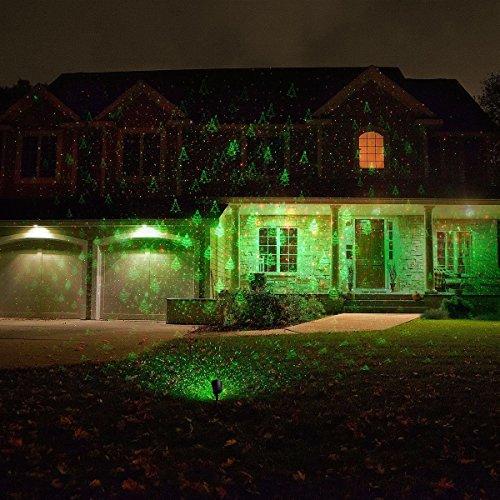 Laser Light Christmas Tree: Porch & Patio Lights 1byone Christmas Laser Lights With
