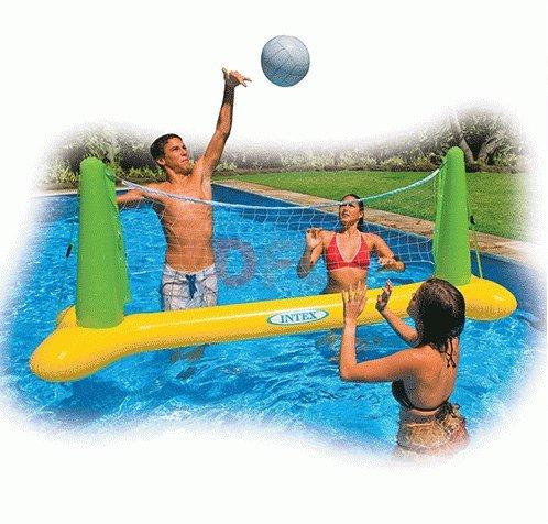 Juegos hinchables - Red de Voleibol Flotante Hinchable Voley Intex ...