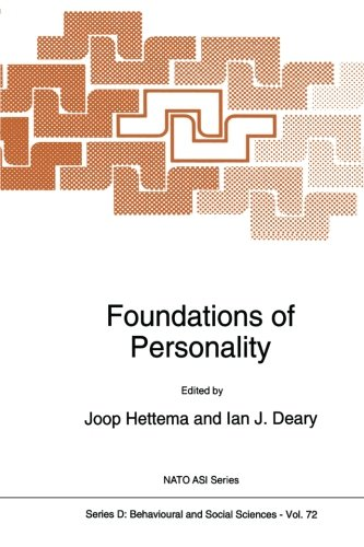 Foundations of Personality (Nato Science Series D: (Closed))