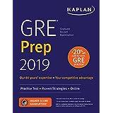GRE Prep 2019: Practice Tests + Proven Strategies + Online (Kaplan Test Prep)