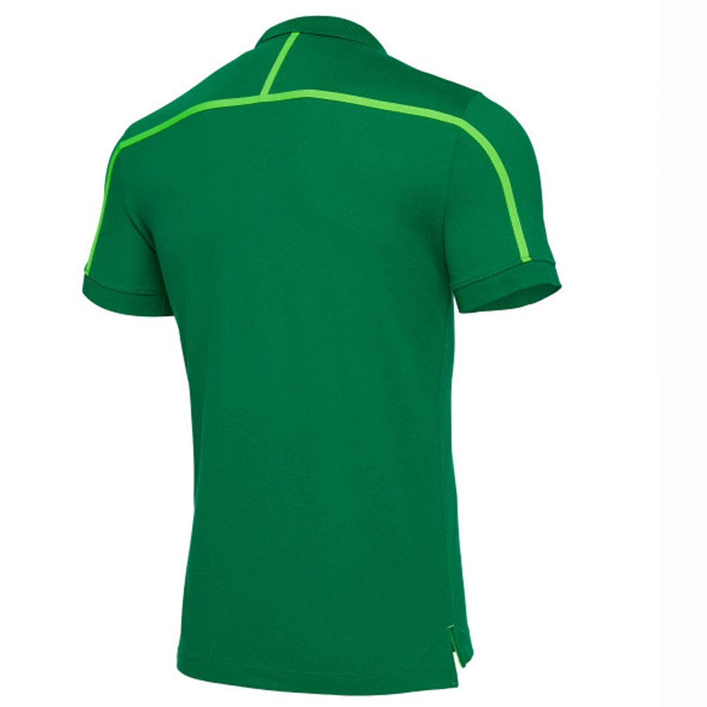 Macron 2018-2019 Sporting Lisbon Cotton Polo Football Soccer T ...