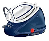 Tefal GV9580 2600W 1.9L Durilium Autoclean soleplate Blue, White steam ironing station - steam ironing stations (2600 W, 8 bar, 1.9 L, 580 g/min, 180 g/min, Durilium Autoclean soleplate)