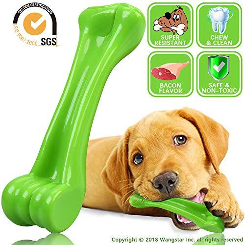wangstar Pet Chew Toy Bone Dog Brush Toy Bite Durable Dog Tooth Toy Chicken Scent Bone Toy Chewer