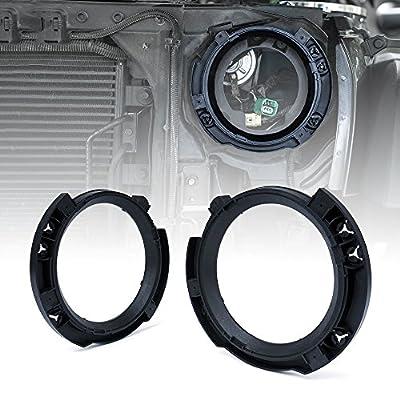 Xprite Replacement Left & Right Headlight Brackets For 2007-2020 Jeep Wrangler JK: Automotive