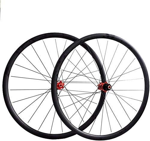 ZFF MTB Wheels 24 Inch Mountain Bike Wheelset Quick Release Hub Aluminum Alloy Double Wall Rim Disc Brake 7 8 9 Speed Color : A