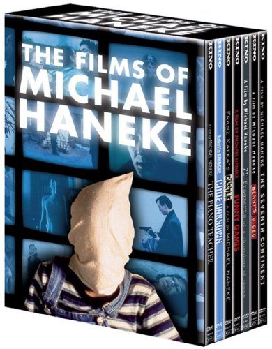 The Michael Haneke Collection (The Piano Teacher/Funny Games/Code Unknown/The Castle/Benny's Video/The Seventh Continent/71 Fragments of a Chronology of Chance) (7pc)