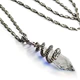 Elvira's Mystical Crystal Snake Necklace