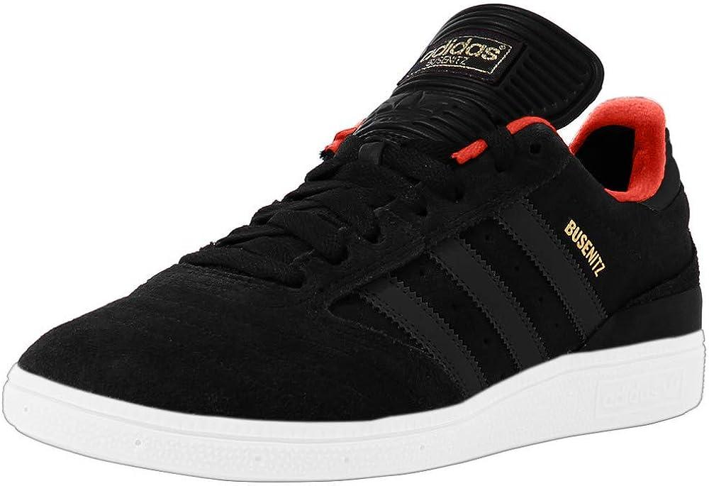 adidas Busenitz Black Black Red Skate Shoes