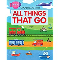 All Things That Go Activities and Stickers: Over 100 Stickers (Clever Sticker & Activity)