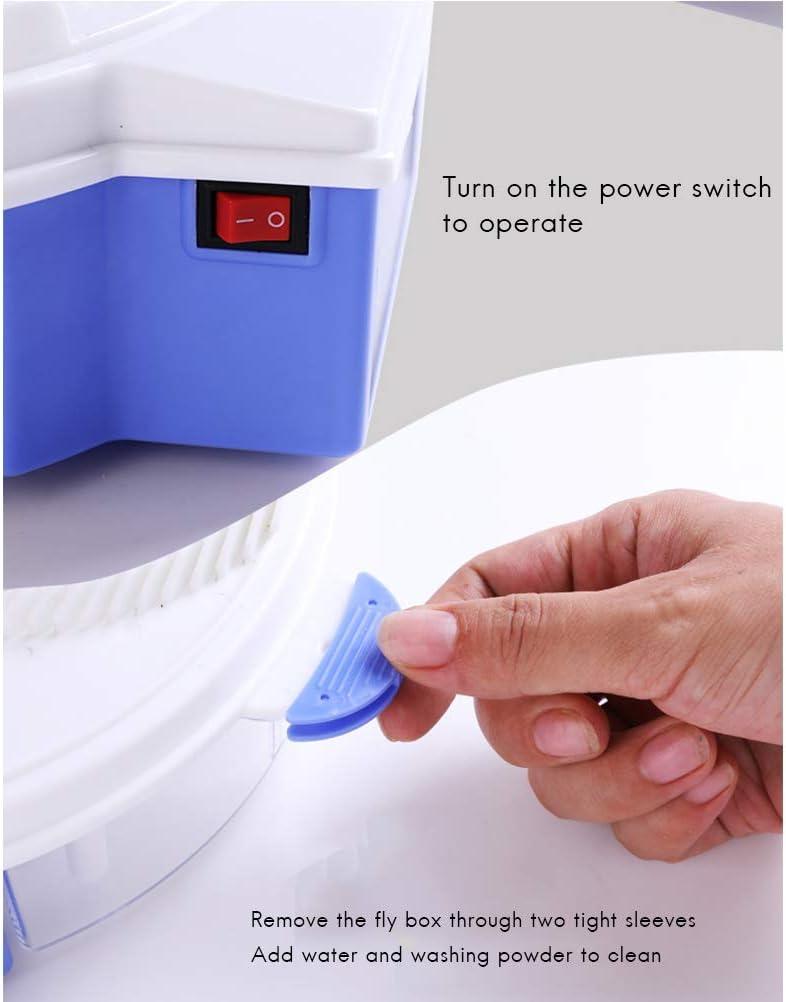 Neborn Durable energ/ía Solar el/éctrica Mosca Trampa Dispositivo con Captura Alimentos Flycatcher artefacto Catcher