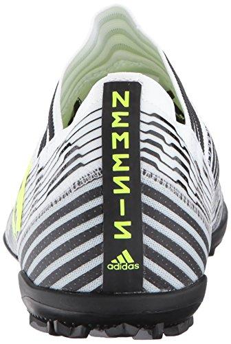 Adidas Originali Mens Nemeziz Tango 17.3 Turf Scarpa Da Calcio Bianco / Solare Giallo / Nero