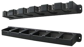 Berkley Vertical 6 Rod Rack Black