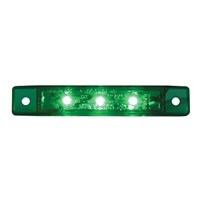 GG Grand General 76286 Green/Green 3.5 Inch Ultra Thin 3-Led Interior Use Light: Automotive