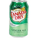 Canada Dry Ginger Ale Diversion Safe- Screw Top, Authentic Can