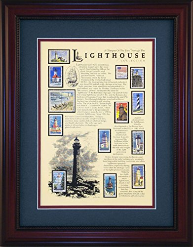 (Lighthouse - Unique Framed Collectible (A Great Gift)