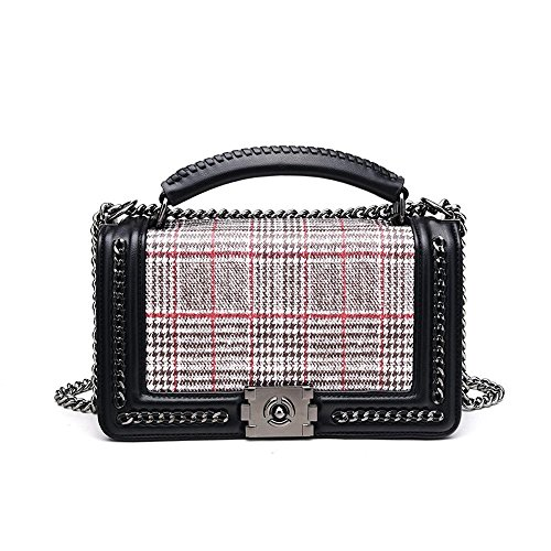 Chain Satchel Bag lap Shoulder Single Hundred Lock Messenger Fashion Maerye qIHOUwxgTn