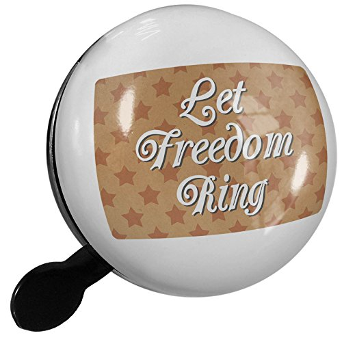Small Bike Bell Let Freedom Ring Fourth of July Kraft Stars - NEONBLOND by NEONBLOND