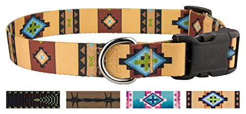 Country Brook Design Deluxe Native Arizona Dog Collar - -