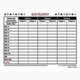 Gin Rummy Score Pads