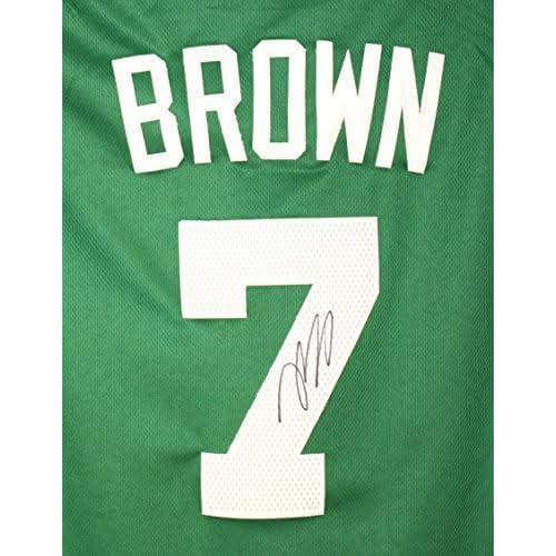 956c2a2e506 Jaylen Brown Boston Celtics Signed Autographed Green  7 Jersey Size L 60%OFF