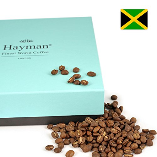 100% Jamaica Blue Mountain coffee - Whole bean - One of the world's best coffees, freshly roasted for you on shipment day! by Hayman - Finest World Coffee
