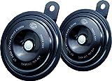 HELLA 002768821 Black 92mm 24V Disc Horn Kit (Universal Fit)