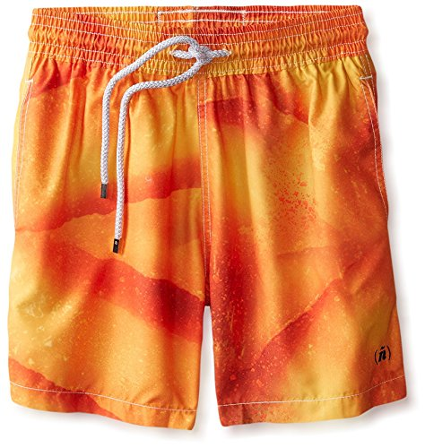 Spenglish Men's Chilli Swim Trunks, Mango, XL