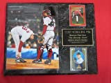 Curt Schilling Red Sox BLOODY SOCK 2 Card Collector Plaque w/8x10 Photo!